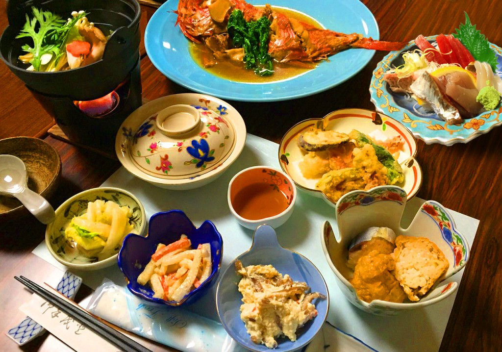 下田荘料理